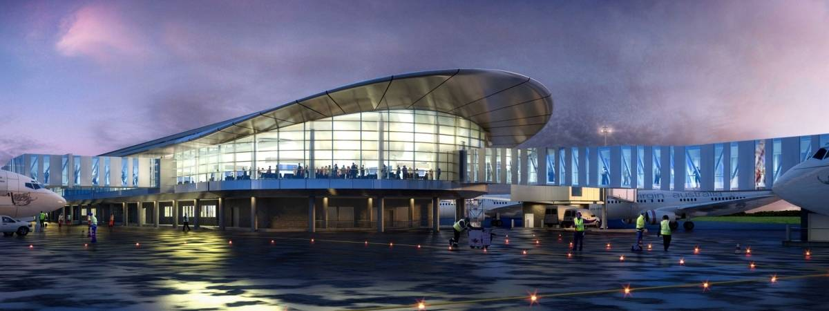 new perth aiport design