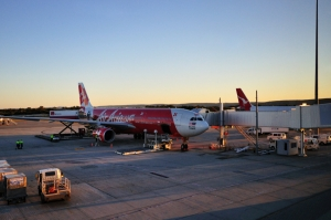 Perth Airport Air Asia