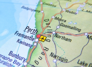 Perth Airport Map