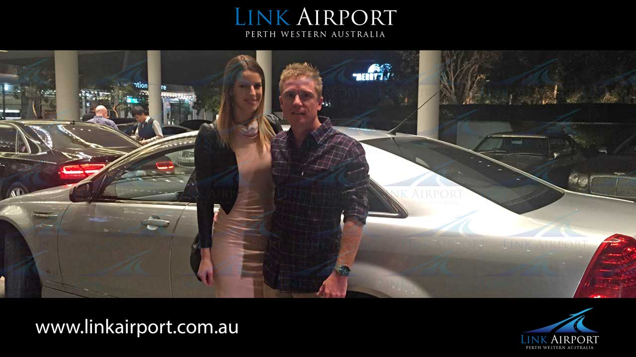 lady and man with car at cass