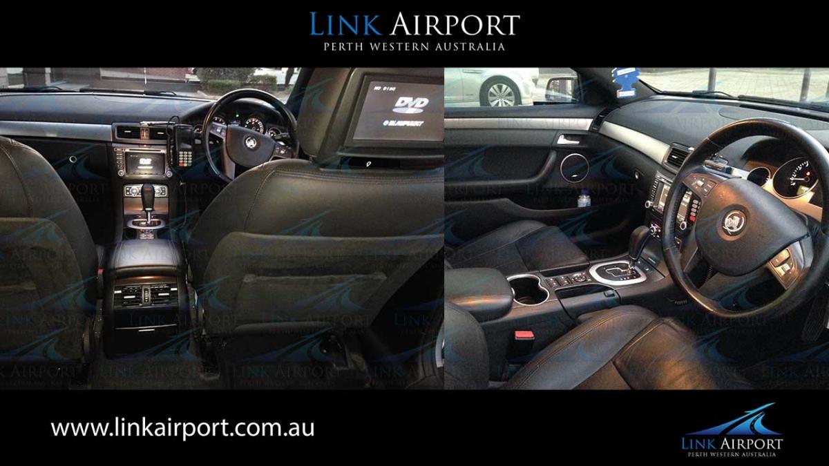inside car four