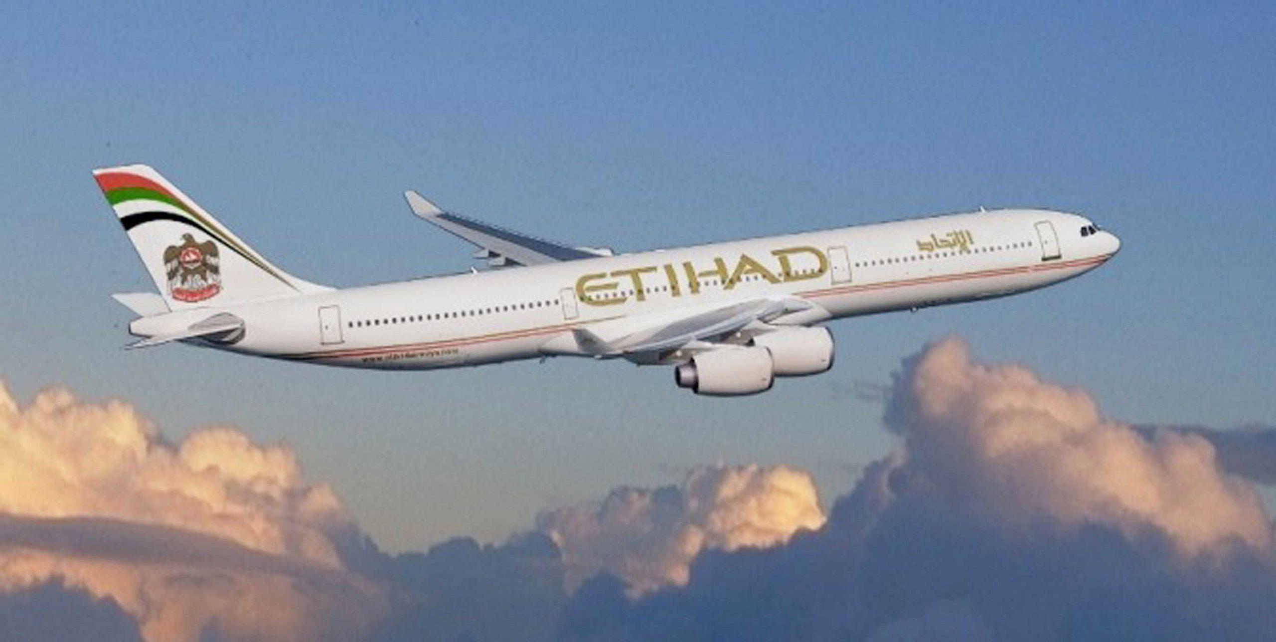 Etihad A340-500 Aircraft. (PRNewsFoto/Etihad Airways)